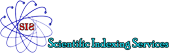 Indexed in Scientific Indexing Services (SIS)